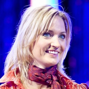 Annette Heick synger med  Livgardens Musikkorps